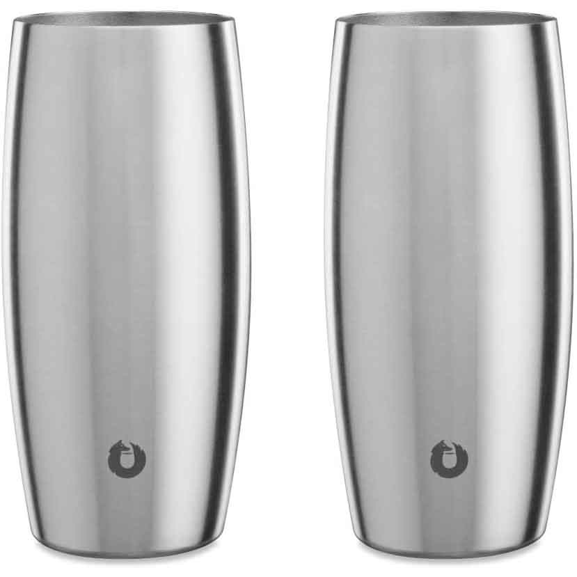 SNOWFOX Everyday Collection Insulated Stainless Steel Beer Glass